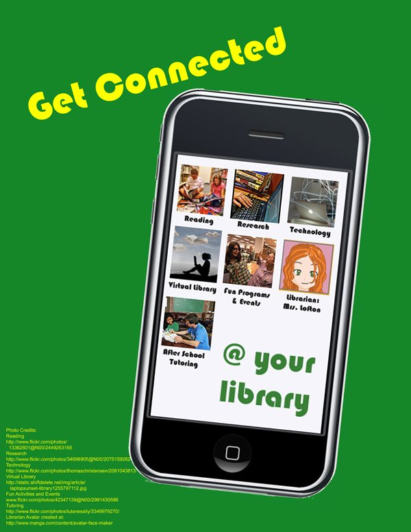 get connected poster small