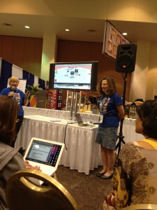 Pam Oehlman & Jane Lofton presenting