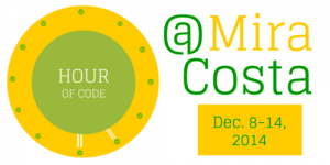 Hour of Code at Mira Costa