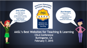 AASL's Best Websites