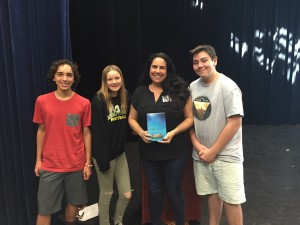 Marisa Reichardt and Students