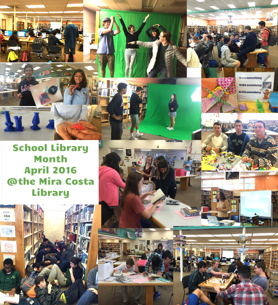 School Library Month Photo Snapshot